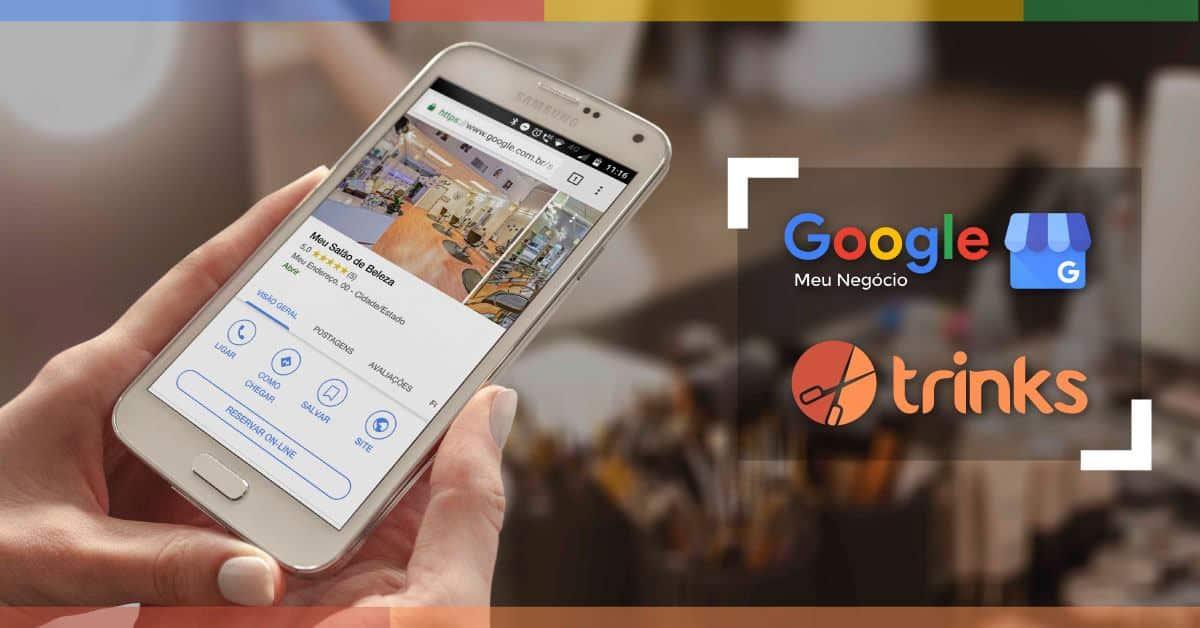 Agendamento Online pelo Google Reserve Trinks